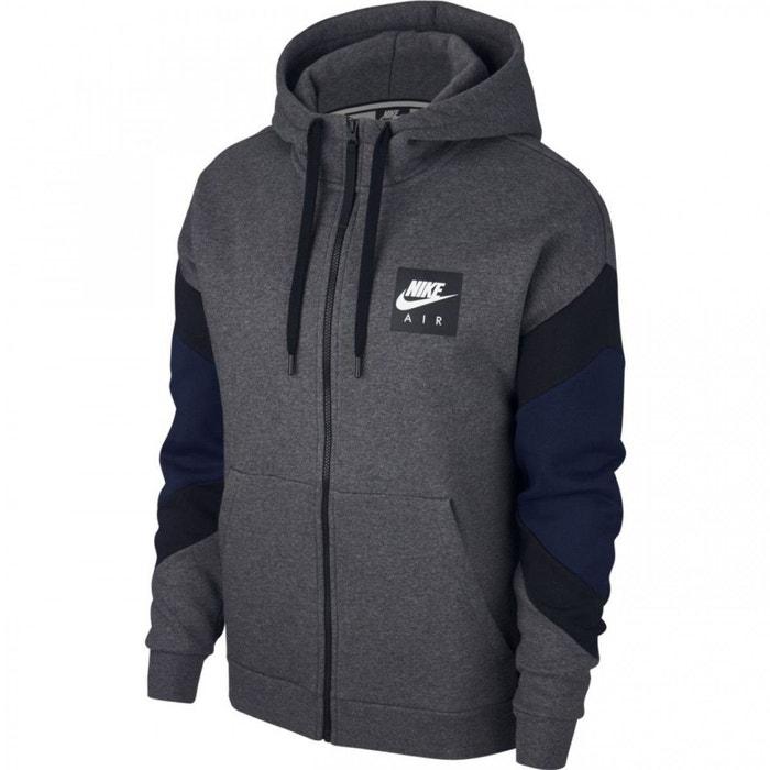 c3e8b27bfe2a Sweat à capuche nike sportswear air - ref. 928629-072 gris Nike