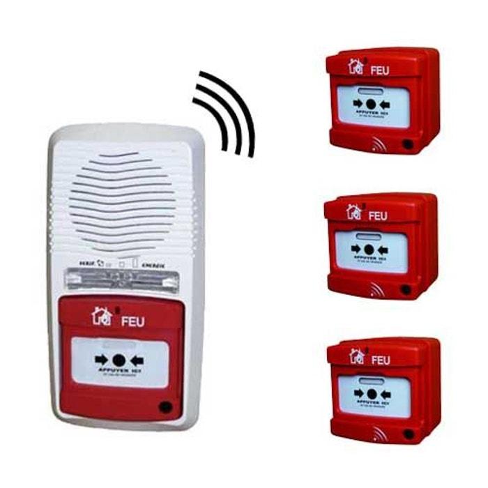 alarme type 4 radio avec 3 d clencheurs couleur unique jod 1 la redoute. Black Bedroom Furniture Sets. Home Design Ideas