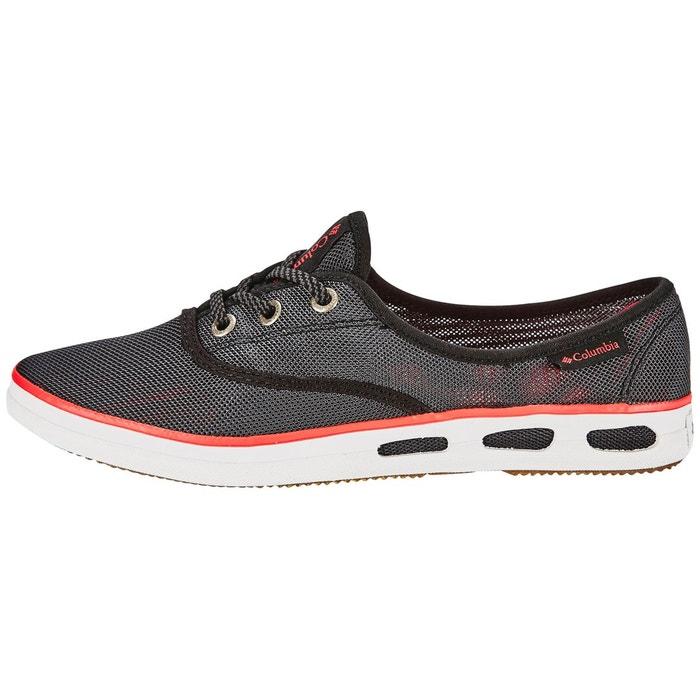Vulc n vent lace mesh - chaussures femme - gris/rouge gris Columbia