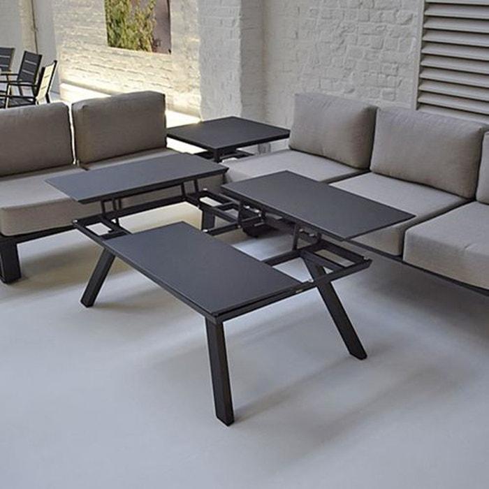 Alu Relevables Kiona Basse Table 3 Plateaux Aj35Lq4R