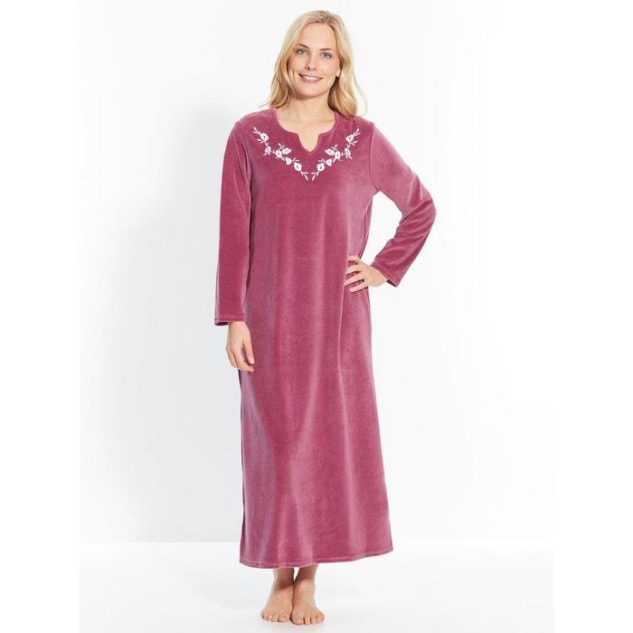 extrêmement unique service durable vente chaude Robe d'hôtesse en maille velours
