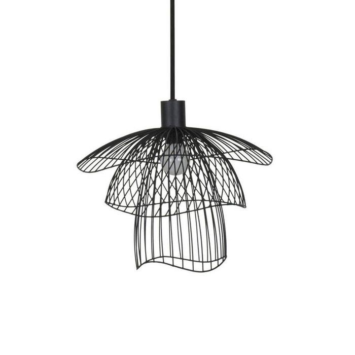 papillon suspension m tal noir 30cm noir forestier la redoute. Black Bedroom Furniture Sets. Home Design Ideas