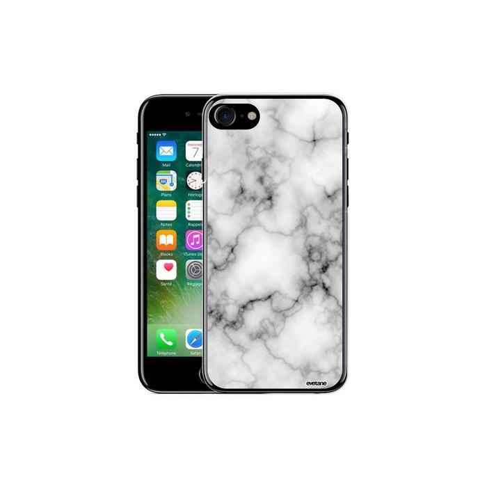 coque iphone 7 marbre blanc