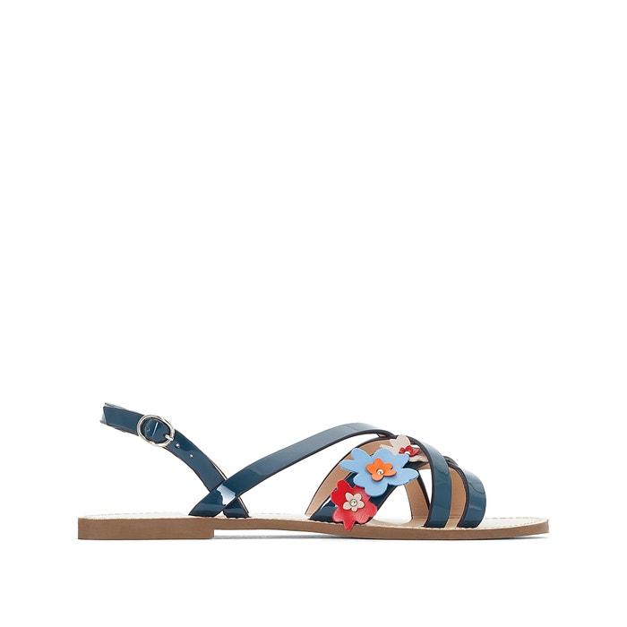 Sandali in vernice cinturino floreale  MADEMOISELLE R image 0