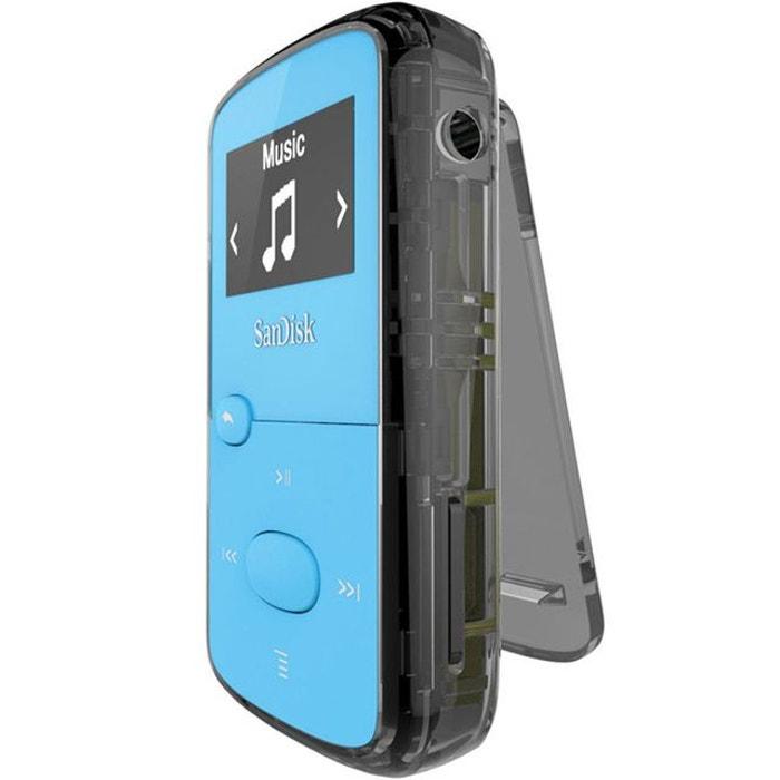 Lecteur mp3 sandisk clip jam bleu 8 go - ecran oled 0.96 - radio fm ... b1d6f2bbb3bc