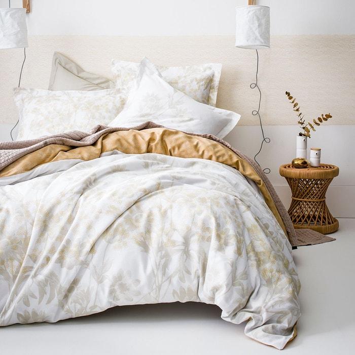 drap plat promesse en satin de coton perle perle essix la redoute. Black Bedroom Furniture Sets. Home Design Ideas