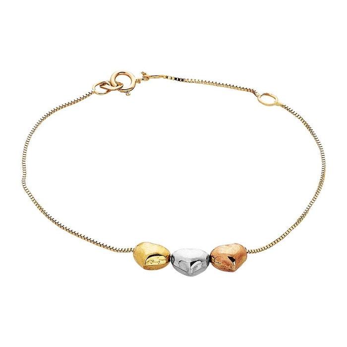 Prix Incroyable Vente Offres De Vente À Bas Prix Bracelet or 375/1000 multi couleur Cleor | La Redoute Collections Vente En Ligne 2vQ8UsTRU