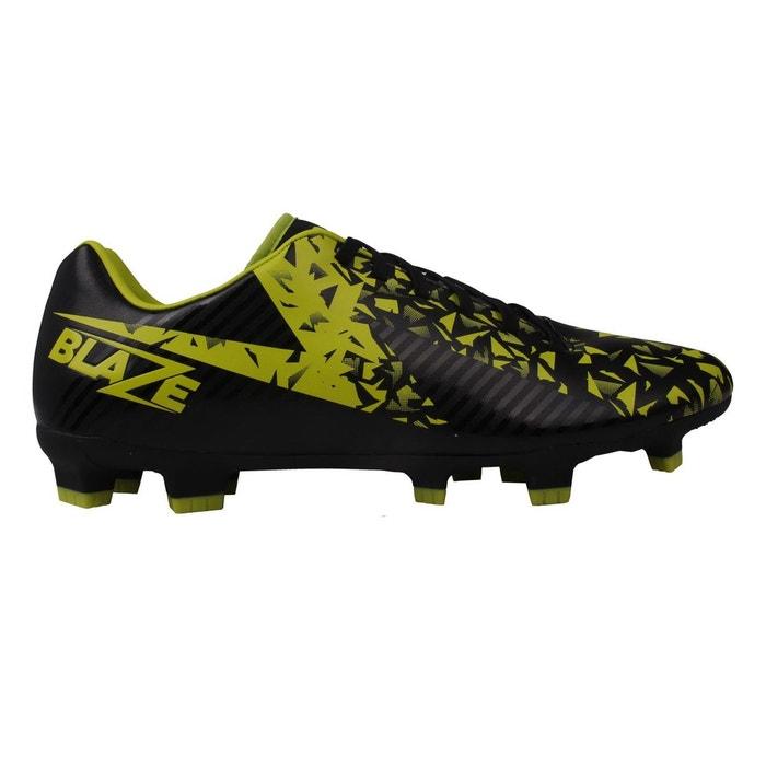 Bottes de football noir/lime Sondico