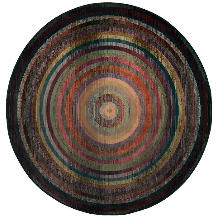 Tapis gabiro multi tapis rond multicolor theko la redoute - Tapis rond la redoute ...