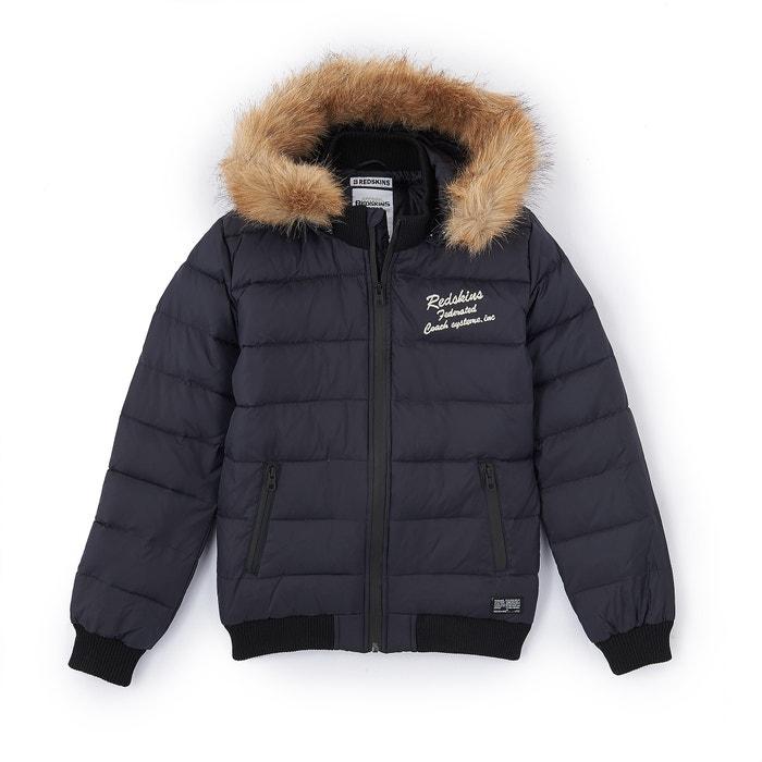 Hooded Padded Jacket, 10-16 Years  REDSKINS image 0