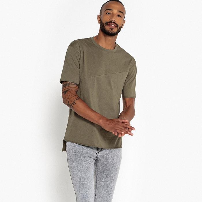 T-shirt taglio ampio scollo rotondo maniche corte  La Redoute Collections image 0