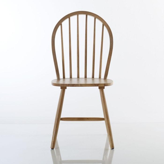 Lot de 2 chaises à barreaux, WINDSOR