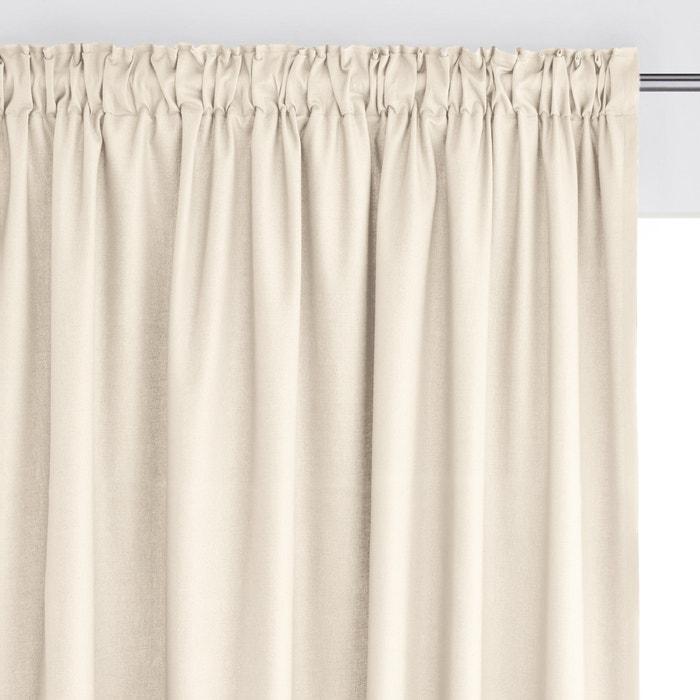 Tenda profilo arricciato puro cotone SCENARIO  La Redoute Interieurs image 0