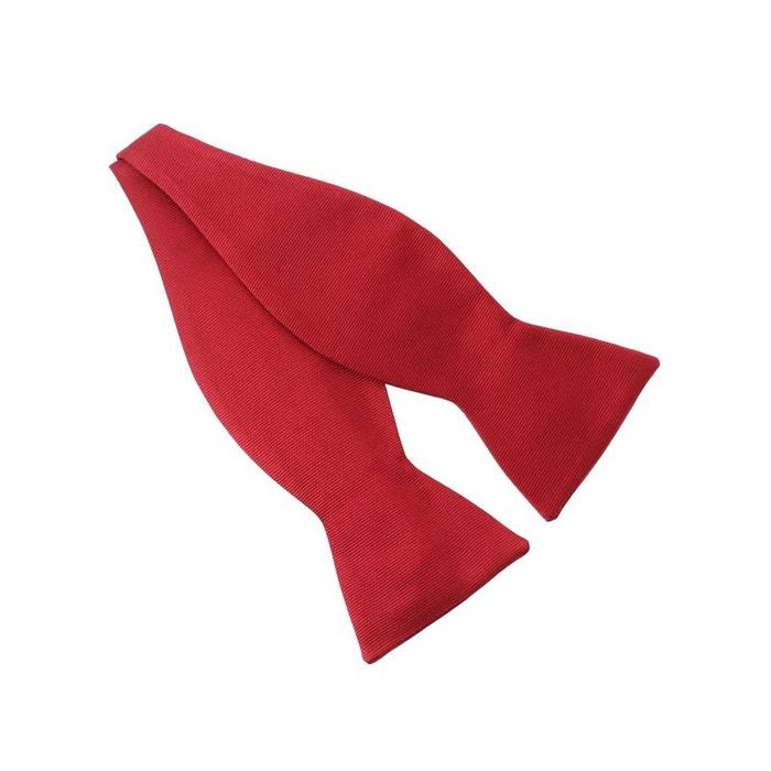 N?ud papillon à nouer en soie, rouge sangue, fait à la main rouge Tony Et Paul   La Redoute