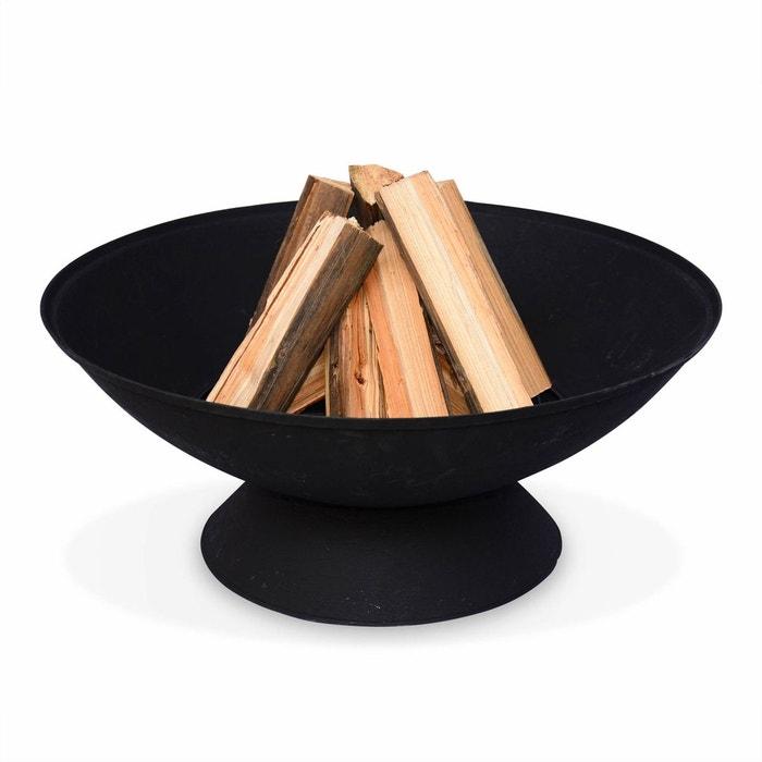 bras ro bois 56cm etna noir panier b ches brasier alice s garden la redoute. Black Bedroom Furniture Sets. Home Design Ideas