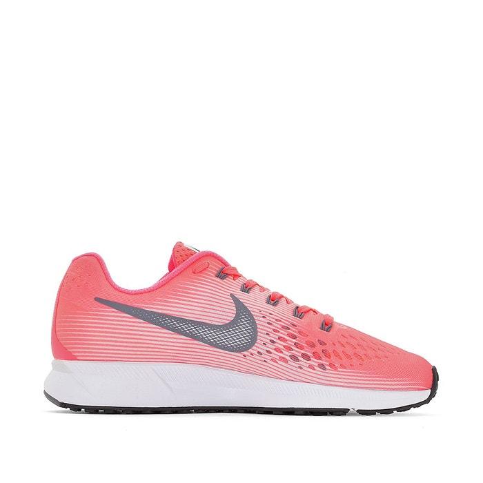 Baskets running air zoom pegasus 34 rose/blanc Nike | La Redoute