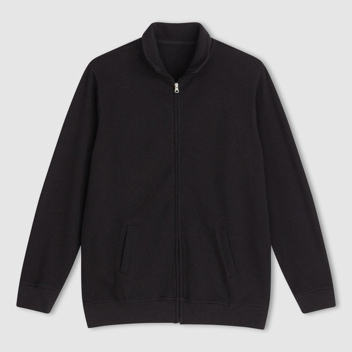 Image Cotton Zip-Up Cardigan CASTALUNA FOR MEN