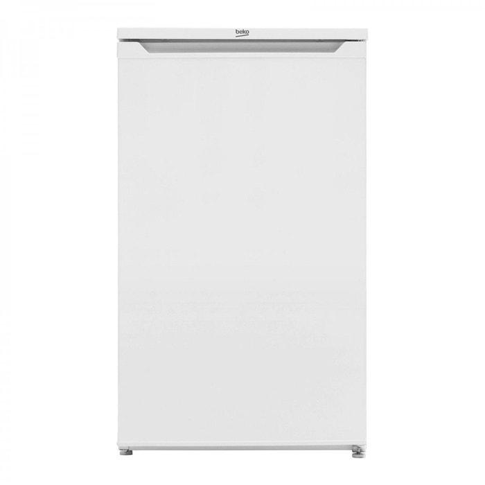 refrigerateur 1 porte table top 88l beko ts190020 a blanc beko la redoute. Black Bedroom Furniture Sets. Home Design Ideas