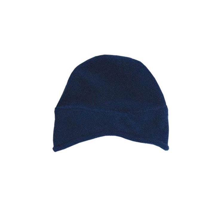 Bonnet cache oreilles en polaire 0 mois-24 mois made in france bleu Poussin  Bleu   La Redoute 5b87752f8fa