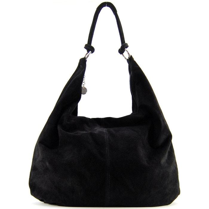 Sac à main en cuir love Oh My Bag   La Redoute 43945e2d7193