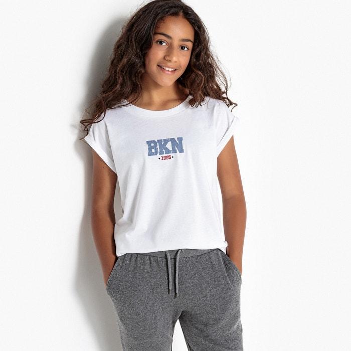 T-shirt maniche corte fantasia 10-16 anni  La Redoute Collections image 0