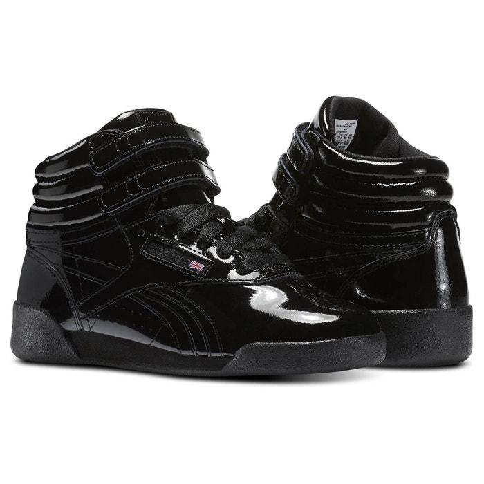 e9998a950974 Freestyle hi patent leather noir Reebok Classics | La Redoute