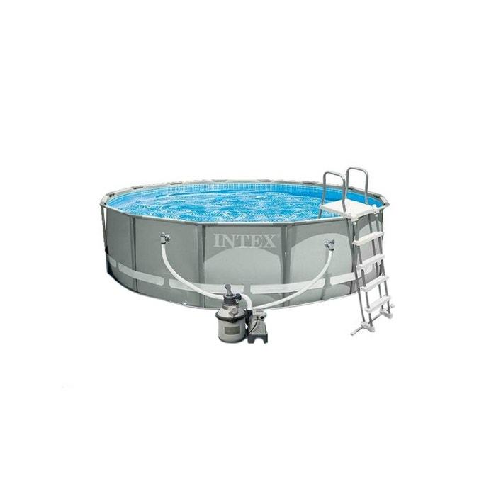 piscine tubulaire ultra frame ronde 4 27 x 1 22 m intex intex la redoute. Black Bedroom Furniture Sets. Home Design Ideas