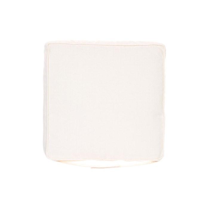 Galette de chaise 40 x 40 cm blanc blanc hesperide - Galette de chaise blanc ...