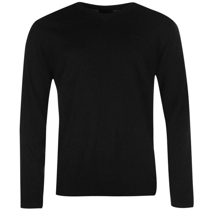 pull en tricot col en v hommes pierre cardin la redoute. Black Bedroom Furniture Sets. Home Design Ideas