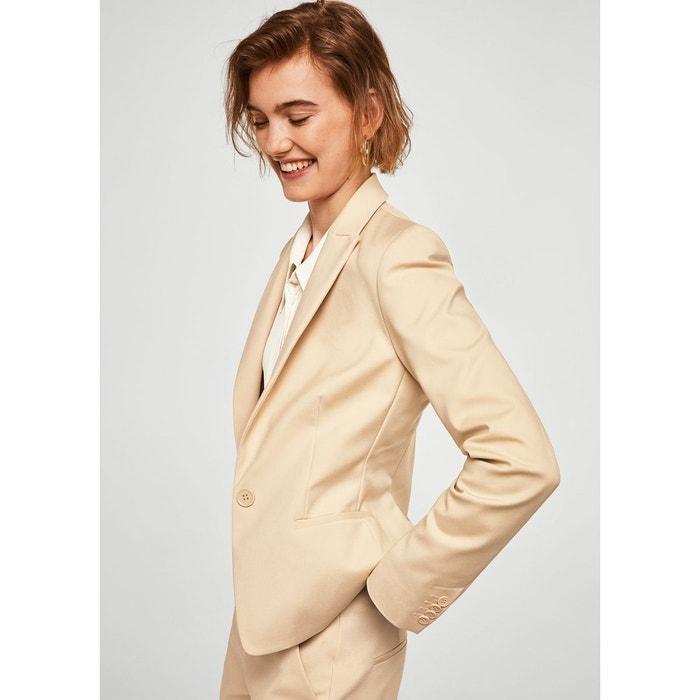 Veste en coton beige femme