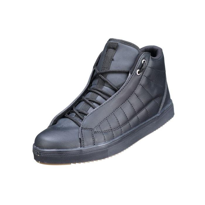 3a213ea2723 Basket à lacets noir Leader Mode