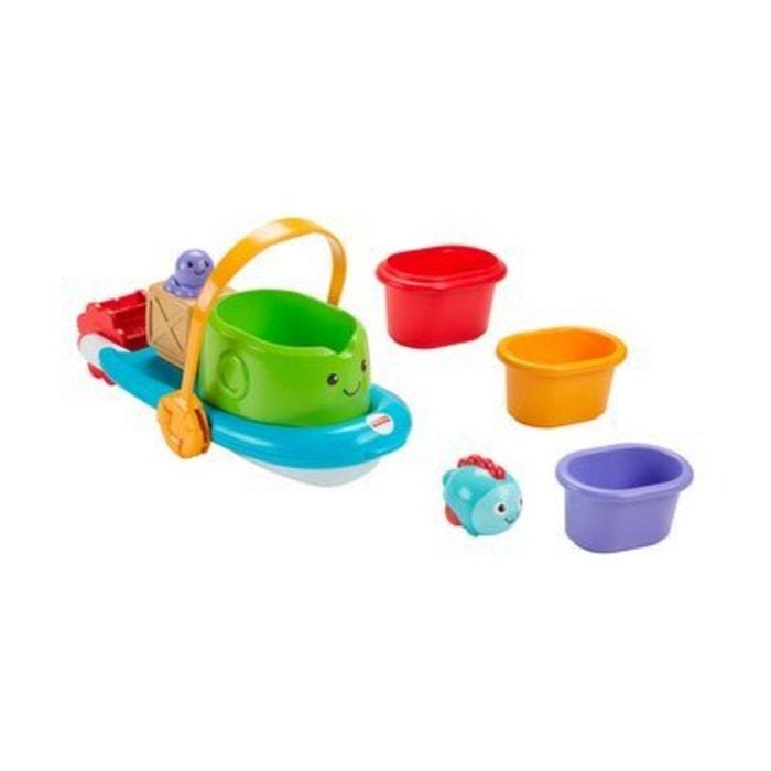 fisher price le jeu empiler pour le bain bateau jouets. Black Bedroom Furniture Sets. Home Design Ideas
