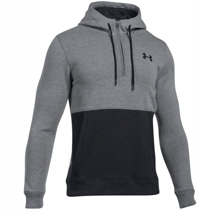 sweat threadborne 1 2 zip hoodie under armour la redoute. Black Bedroom Furniture Sets. Home Design Ideas