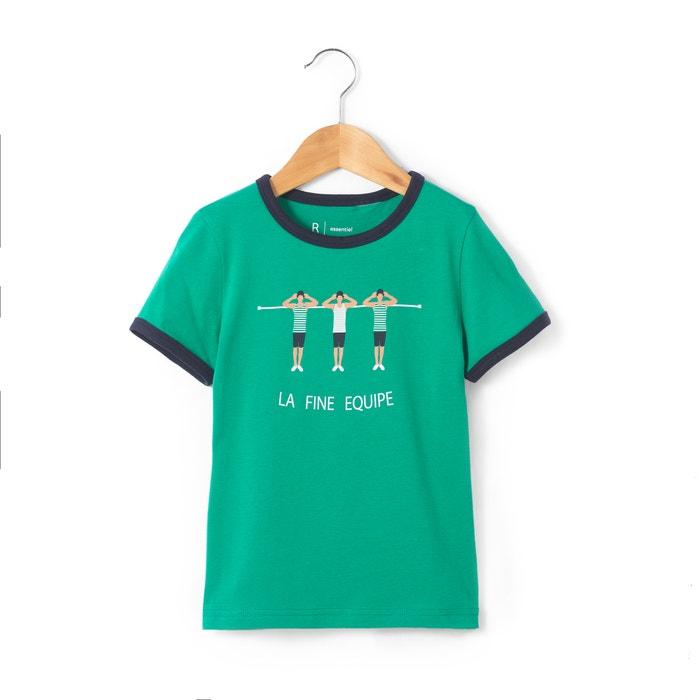 Imagen de Camiseta estampada ''jugadores'' 3-12 años La Redoute Collections