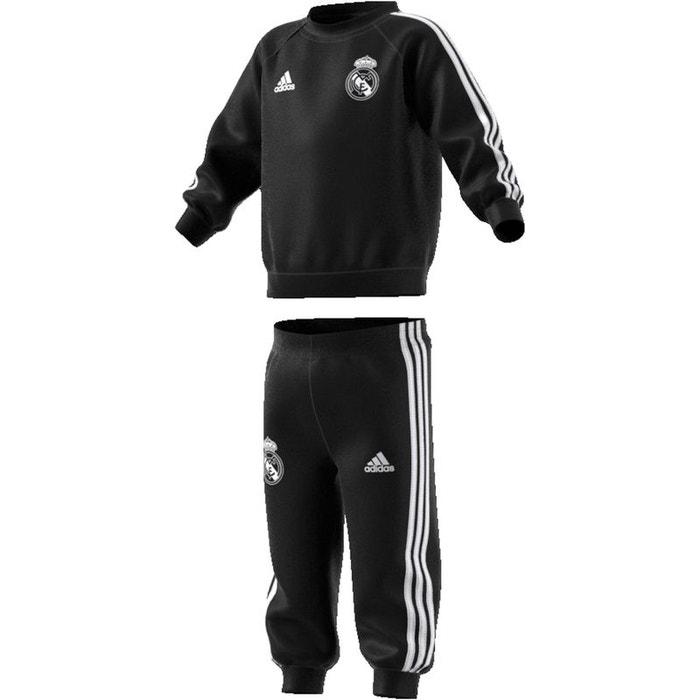 baaa0c8279f63 Survêtement baby real madrid 2018 19 noir blanc Adidas