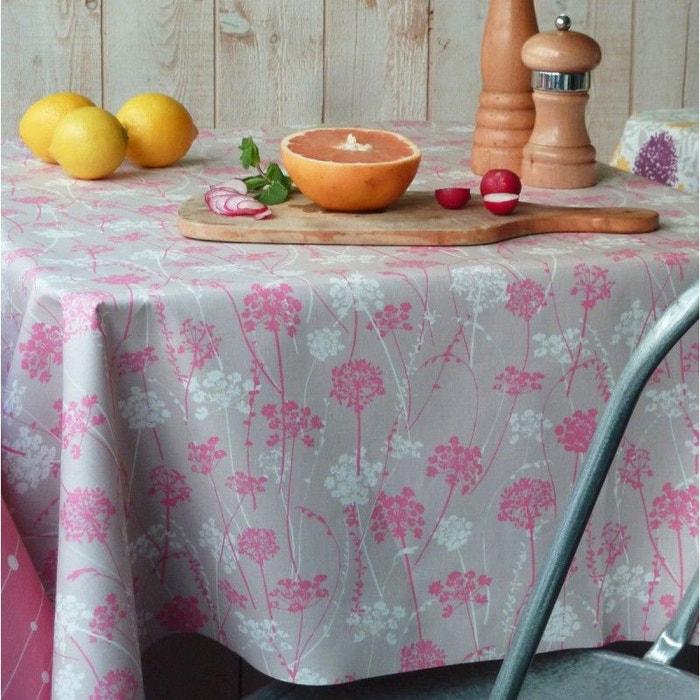 nappe enduite herbes fleur de soleil la redoute. Black Bedroom Furniture Sets. Home Design Ideas