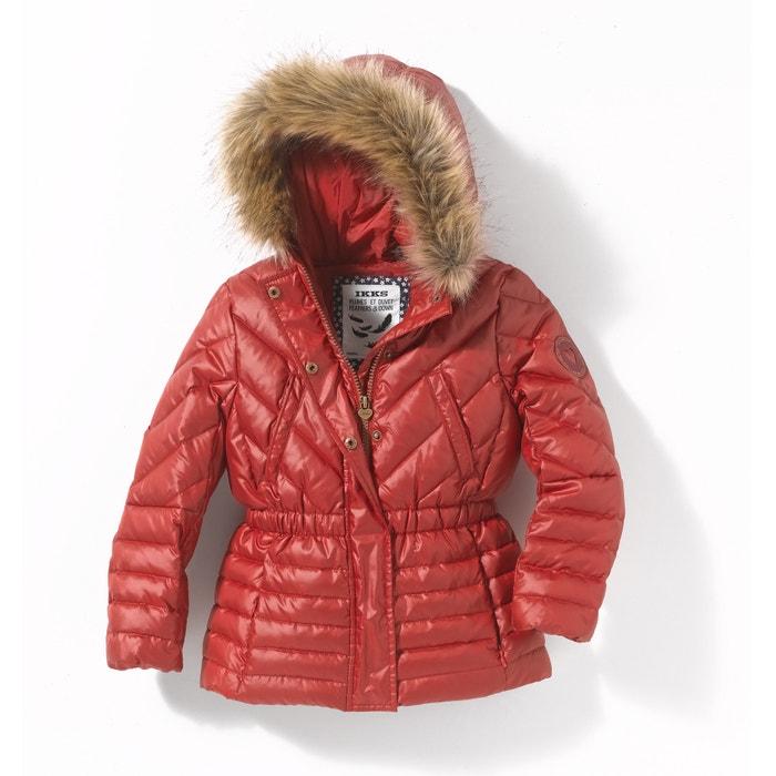 Image Padded Coat with Faux Fur Hood, 3-14 Years IKKS JUNIOR