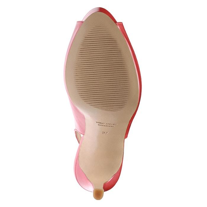 Escarpins femme corail Evita