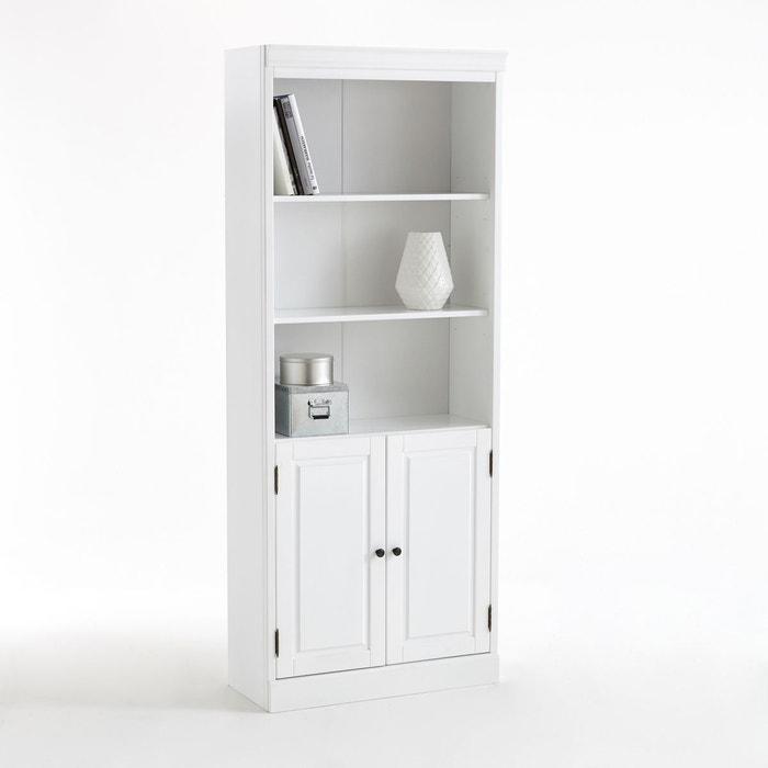 biblioth que juxtaposable authentic style blanc la. Black Bedroom Furniture Sets. Home Design Ideas