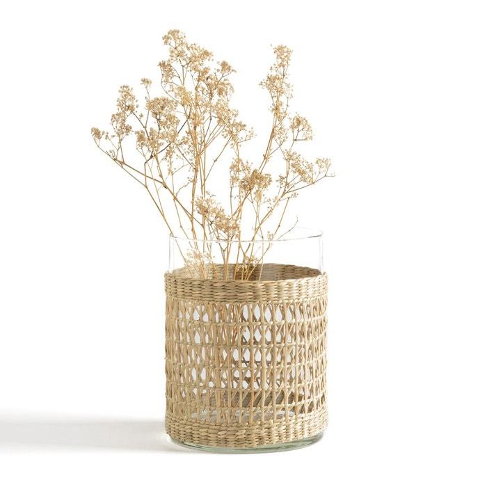 Vase verre et tressage KÉZIA  LA REDOUTE INTERIEURS image 0