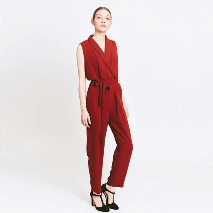 Combinaison pantalon brique migle me la redoute - La redoute combinaison ...
