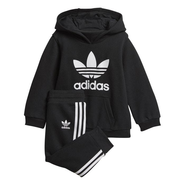 a5da0af8f Chándal 0 3 meses - 3 4 años negro Adidas Originals