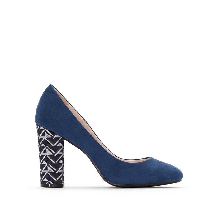 Zapatos de tacón fantasía, pie ancho, del 38 al 45 Castaluna