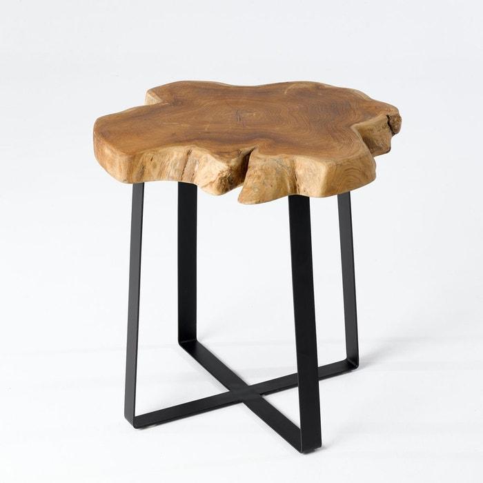 bout de canap racinella naturel am pm la redoute. Black Bedroom Furniture Sets. Home Design Ideas