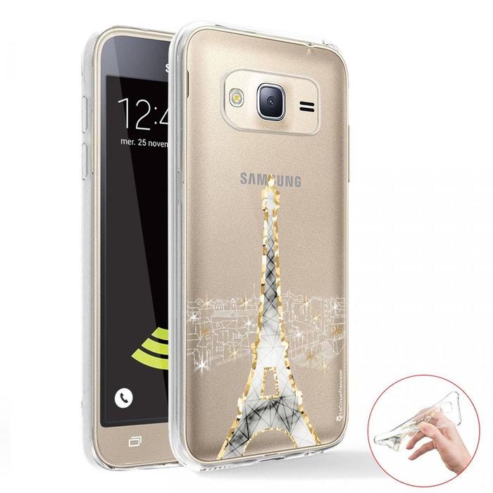 Coque Samsung Galaxy J5 2016 360 intégrale avant arrière transparente
