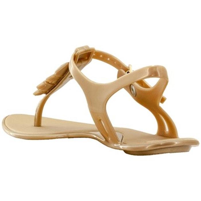 Sandales  /  nu-pieds caoutchouc  jaune Mel Dreamed By Melissa  La Redoute