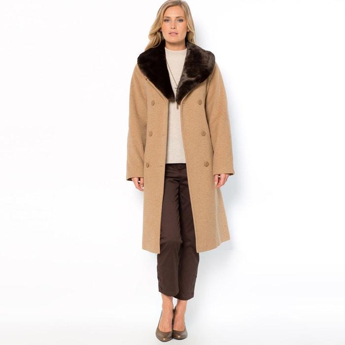 Manteau laine/cachemire, long 100 cm ANNE WEYBURN