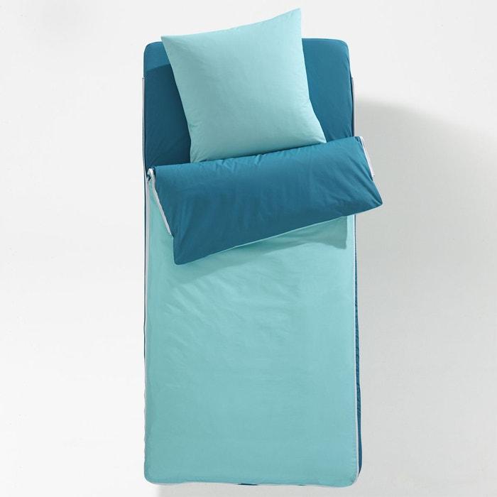caradou avec couette pr t dormir bicolore la redoute interieurs la redoute. Black Bedroom Furniture Sets. Home Design Ideas