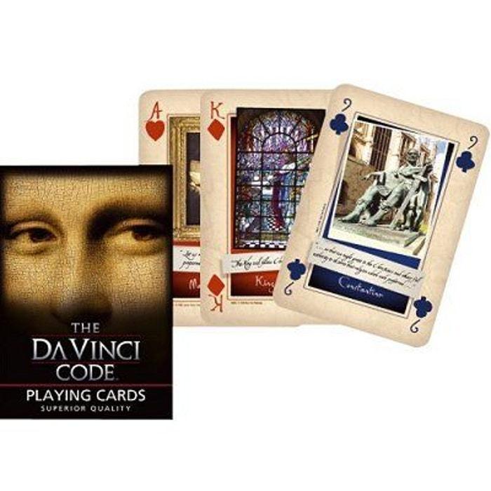 Jeu de 54 cartes Da Vinci Code  PIATNIK image 0