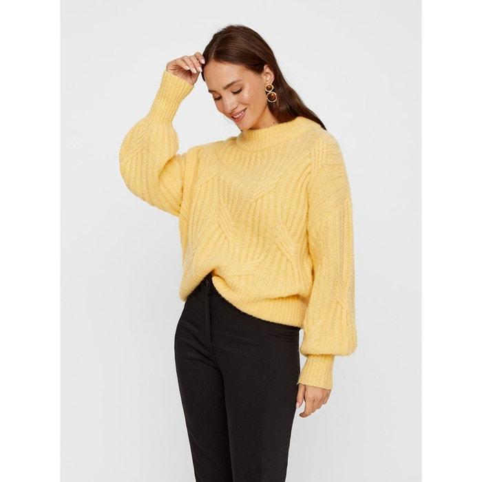 Pullover Oversize laine mélangée